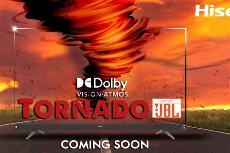 hisense tornado 4k