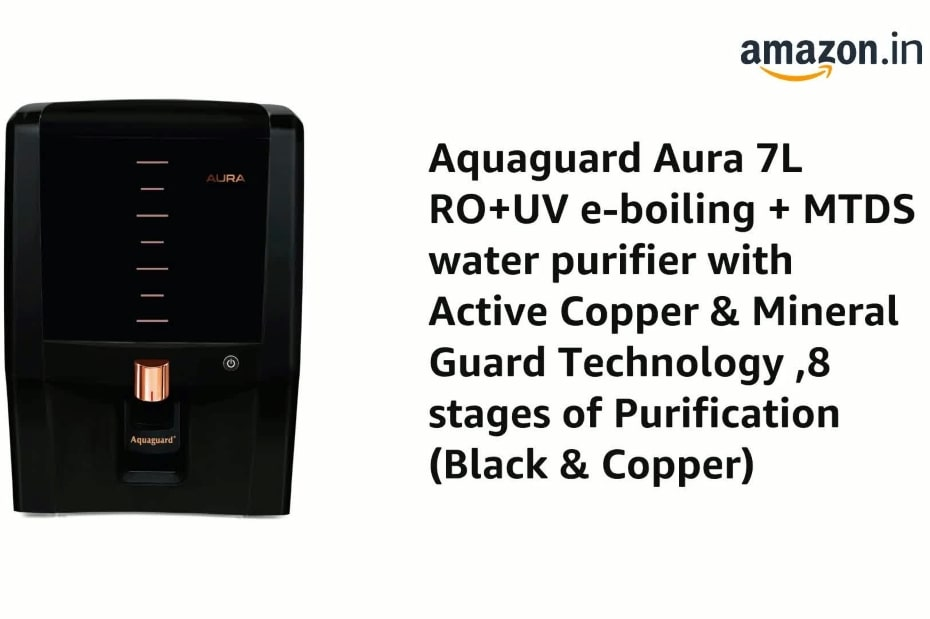 aquaguard uv+uf water purifier