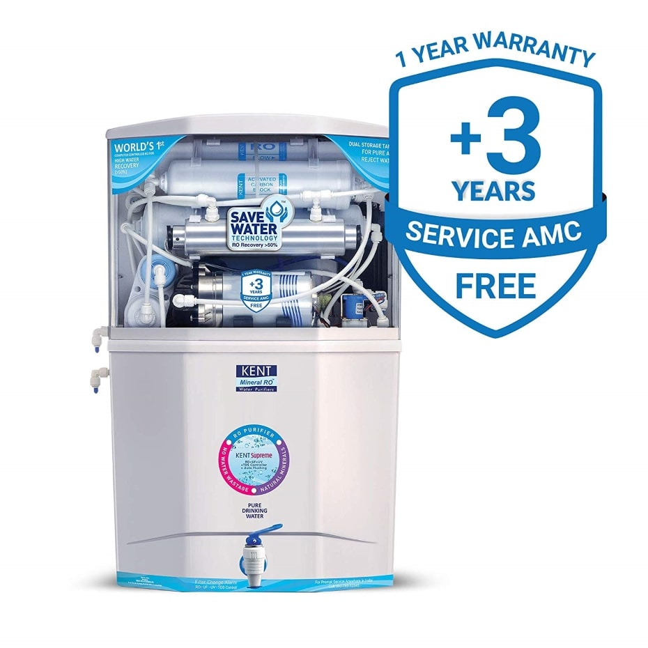 kent ro+uv+uf+tds water purifier