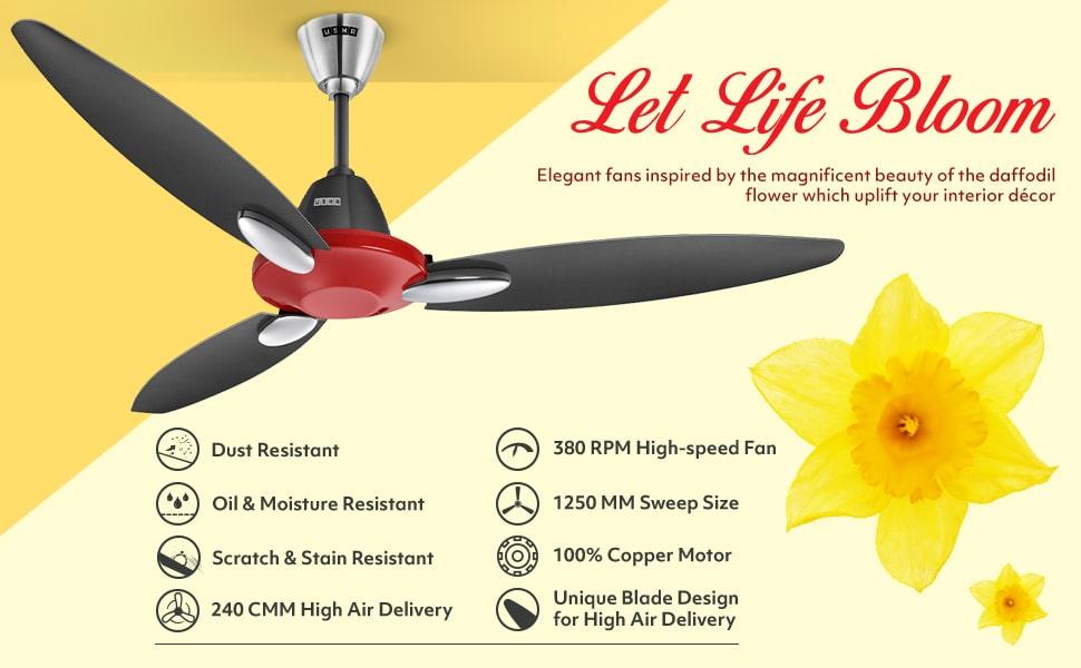 usha ceiling fan price