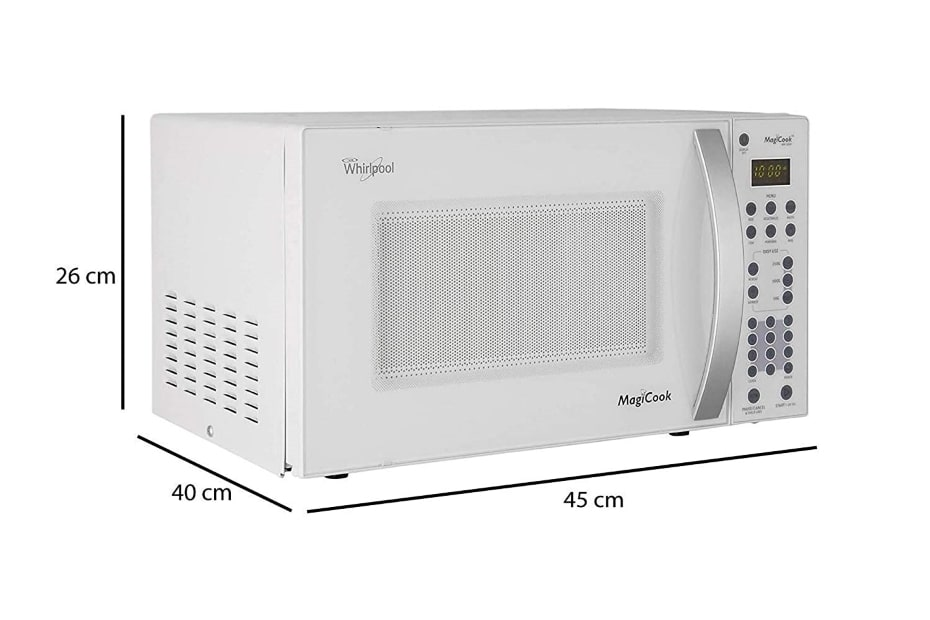 whirlpool solo microwave oven